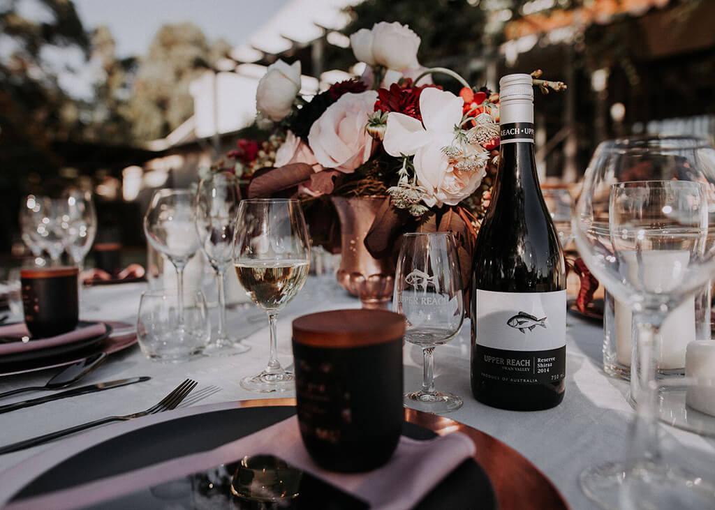Perth Wedding Inspiration - An Enchanting Wedding at Upper Reach Winery - K&CO Events Perth WA